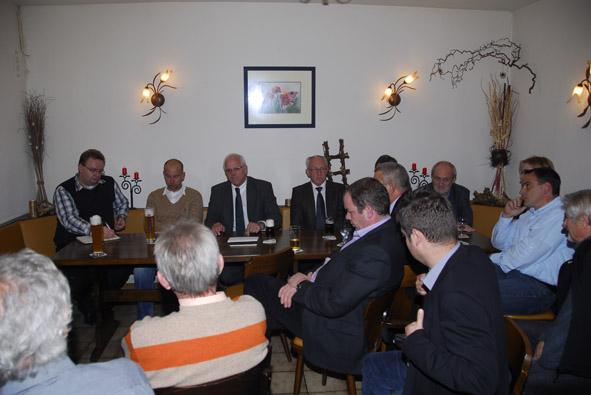 Politischer Frühschoppen mit dem Parlamentarischem Staatssekretär Peter Bleser MdB