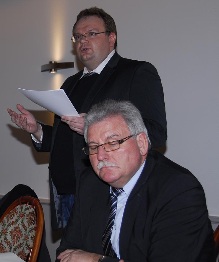 Sascha Thönges als Vorsitzender wiedergewählt