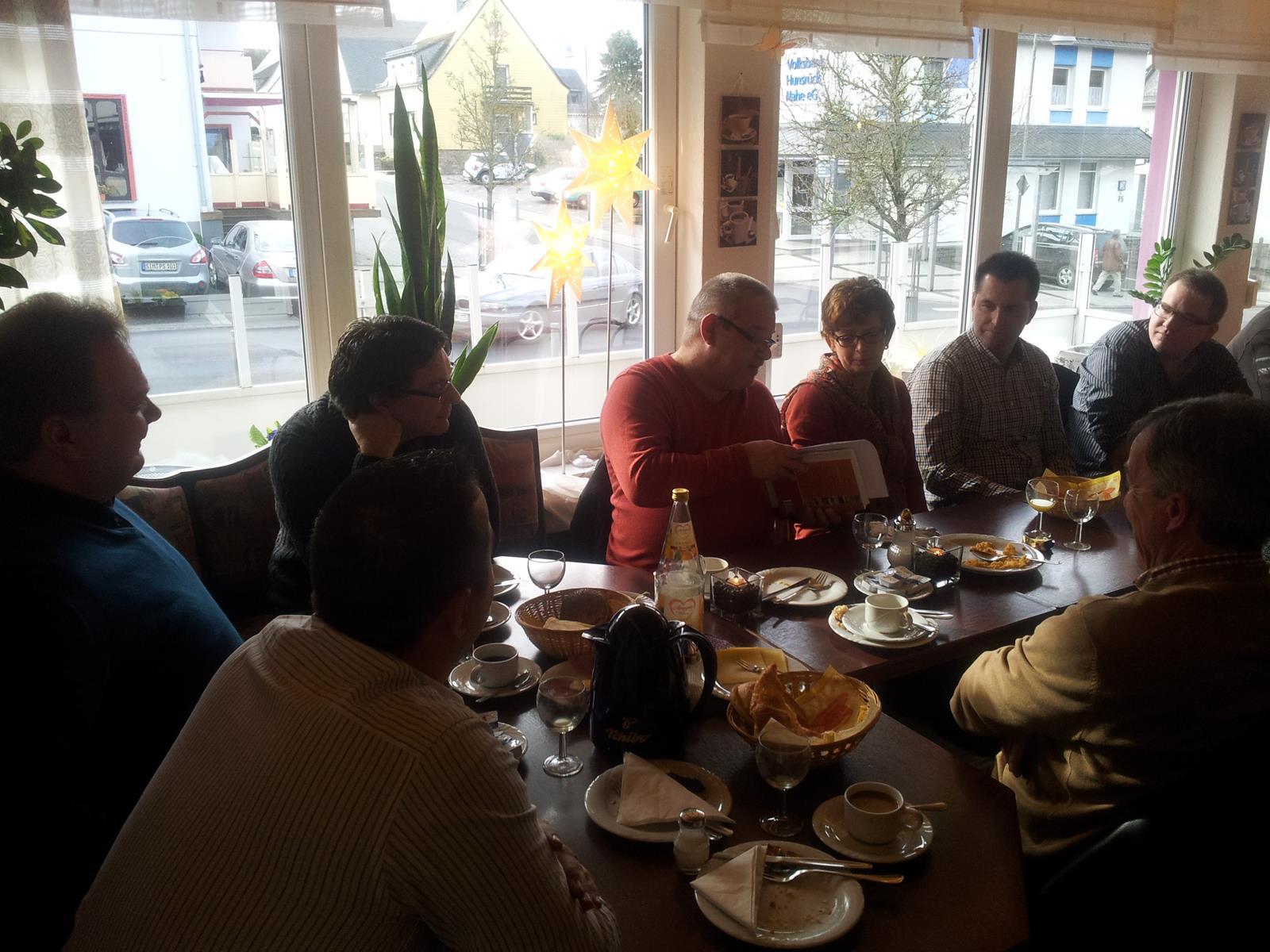 Neumitgliederfrühstück der CDU Emmelshausen