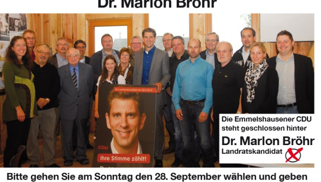 Landratswahl 28. September 2014