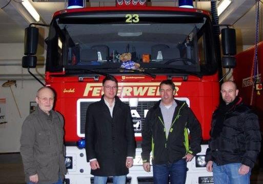 CDU besucht Freiwillige Feuerwehr Pfalzfeld