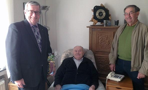 55 Jahre Mitglied in der CDU – Ehrung für Rudolf Dieler