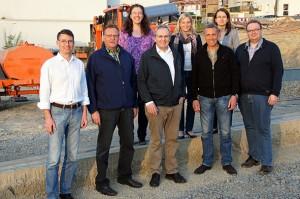 v. l. n. r.: Frank Fischer, Günter Petry, Gudrun Fischer, Alfred Muders, Christina Muders, Jügen Gries, Christel Schmidt, Sascha Thönges.