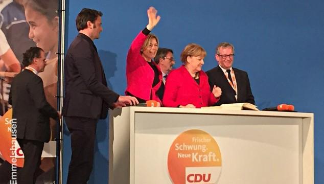 CDU Emmelshausen von Angela Merkel und Julia Klöckner begeistert!