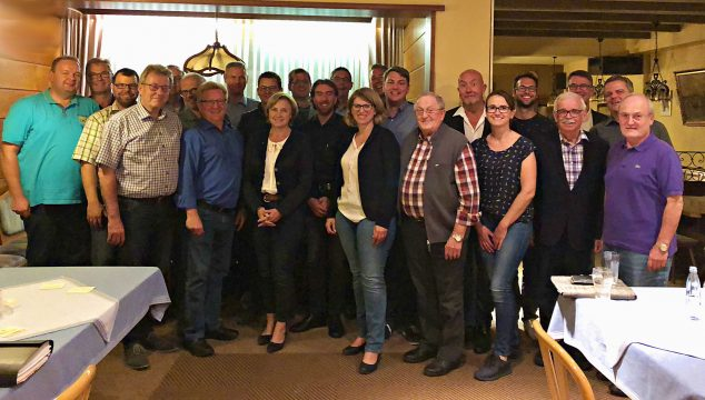 Historisches Treffen zur Fusion zum CDU Gemeindeverband Hunsrück-Mittelrhein