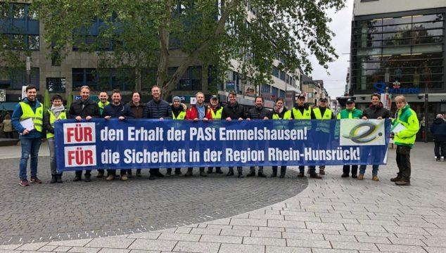 CDU unterstützt Demonstration der GdP zum Thema Sicherheit / PaSt
